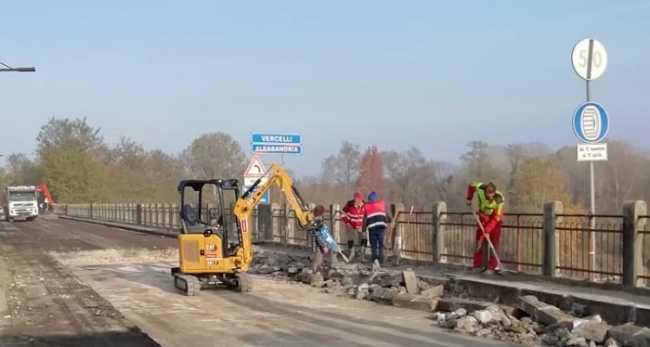 lavori strade ponte