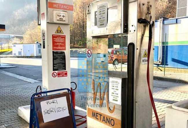 serravalle metano fuori servizio