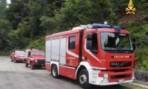 vigili del fuoco disperso